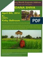 Vandana Shiva at UMD