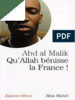 Abd Al Malik - Qu'Allah Benisse La France