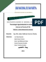 Tecnología Agroindustrial no alimentos I