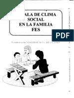 Escala de Clima Social de La Familia