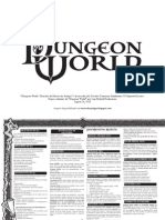 Dungeon World - Super Divisória do Mestre Revisada
