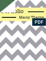 Portfolio Macey Thayne