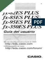 Manual Casio Fx 82 Fx85 Fx95fx350ES PLUS