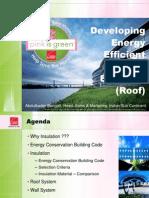 Developing Energy Efficient Building Envelope (Concrete)
