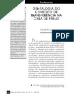 Genealogia Do Conceito de Transferencia Na Obra de Freud