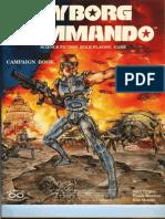 CYBORG COMMANDO RPG-Campaign Book-Referees' Manual