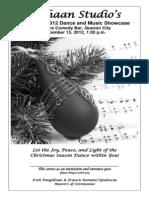 Christmas 2012 Program