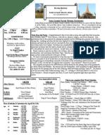 St. Joseph's April 6, 2014 Bulletin