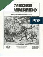 Cyborg Commando Rpg-players' Adventure Notes