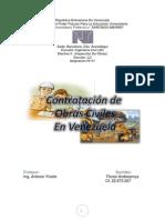 Contratacion de Obras Civiles en Venezuela