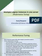 Multiple Cognos Instances in One Server