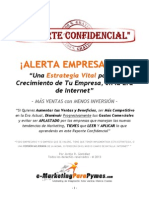 Reporte Confidencial de Marketing Para Pymes