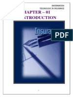 Intoduction to Insurance111