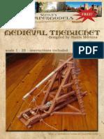 Paper Models -- M Paper Models -- Medieval Trebuchetedieval Trebuchet