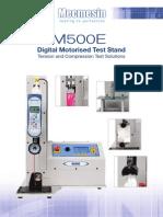 M500E Brochure