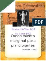 El Conocimiento Oculto u Marginal - Montalk_2007