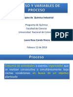 2. Proceso Diagramas Variables de Proceso