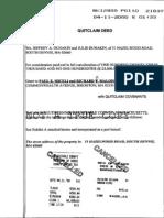 Richard Malone and Paul Miceli Quitclaim Deed