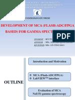 Development of MCA(Flash-ADC/FPGA) for gamma spectroscopy using NaI(Tl) detector