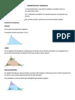 Elementos Del Triangulo
