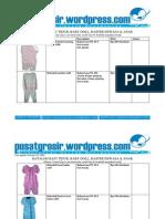 Jual Baju Tidur Grosir Babydoll Daster Model Terbaru 2009 Katalog 26 Oktober