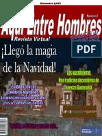 Revista Aquí Entre Hombres Diciembre