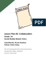 Lesson Plan #2