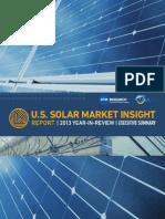 US Solar Market Insight - 2013 YIR - Executive Summary