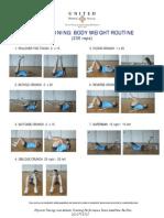 Core Training Body Weight Routine Light