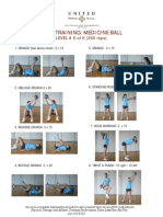 Core Training Med Ball l6