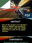 Speed Checker on Highway ppt