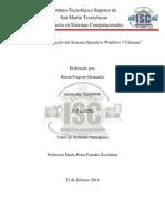 Reporte de Instalacion de Windows 7 Ultimate Corregido