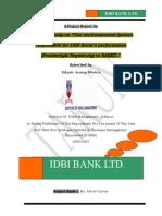 on environmental factors responsible for idbi's performance
