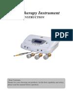Manual Equipo de Mesoterapia