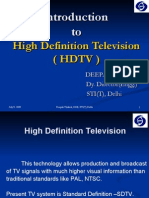 Introduction to HDTV