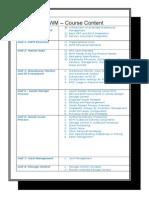 SAP EWM Course Content