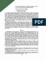 Algunas observaciones sobre una operante en sujetos humanos y su modificación por la anfetamina dextro