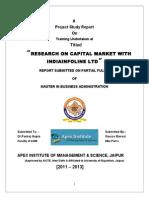 IIFL mba project report