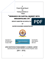 IIFL mba project report