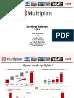 Multiplan Presentation 1Q09 Eng