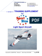 SportStar LSA Flight Training Supp