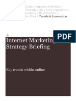 Internet Marketing Strategy Briefing