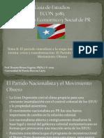 Guía de Estudios - periodo inmediato a la etapa moderna - los años 30 crisis y transformación - el PN y el mov obrero
