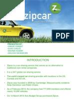 Final Zipcar