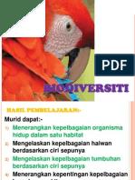 Sains Tingkatan 2 Bab 3 Biodiversiti