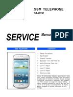 Samsung Gt-i8190 Service Manual r1.0