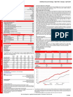 Liberty Securities Individual Account Strategy Factsheet - April 2014