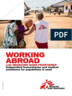 MSF Working Abroad 2013