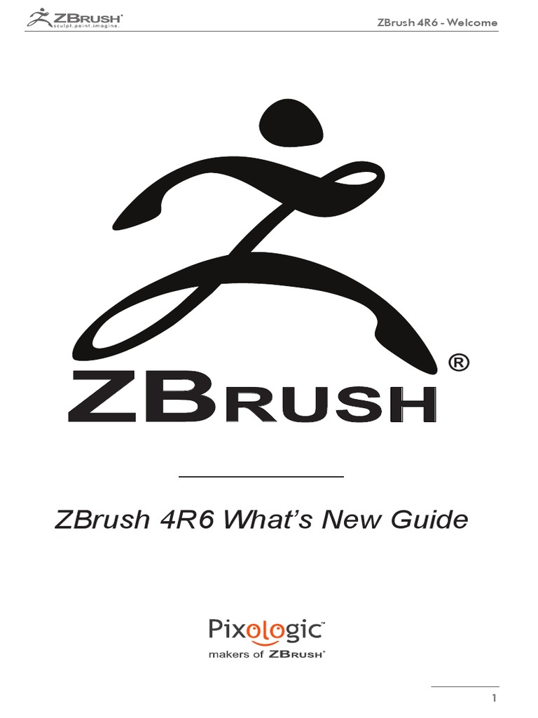 ZBrush4 R6 Whats New | Macintosh | Rgb Color Model