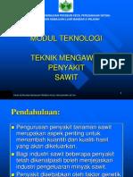 9. Teknik Mengawal Penyakit Sawit